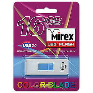 Флэш-диск Mirex 16 Gb Shot White