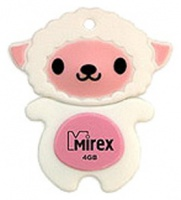 Флэш-диск Mirex 04 Gb Kids-SHEEP Pink (Овечка) (5)