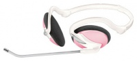 Trust InTouch Travel Headset - Pink (40/360)