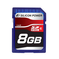 Silicon Power SDHC 08 Gb Class 6 (10)