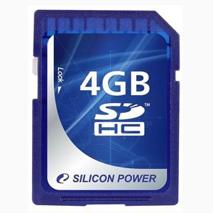 Silicon Power SDHC 04 Gb Class 6 (10)