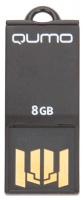 Флэш-диск QUMO 08 Gb Sticker Black