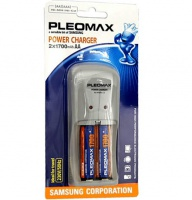 Samsung Pleomax 1018 Power Charger + 2*1700 mAh (6/24/384)
