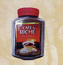 "Кофе ""Cafe Riche original"" 95г. ст/б 1/12"