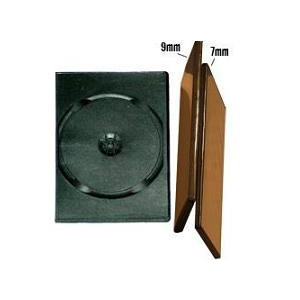 Slim DVD-box 1 B (мат.) 9mm (100) (100)