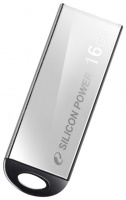 Флэш-диск Silicon Power 16 Gb Touch 830 Silver (10)