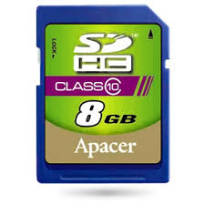 Apacer SD 08 Gb Class 10