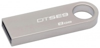 Флэш-диск Kingston 08 Gb DT SE9H Silver (10)
