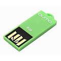 Флэш-диск QUMO 08 Gb Sticker Green