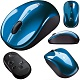 Мышь Logitech V470 Cordless Laser for Notebooks blue RTL (8/448)