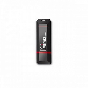 Флэш-диск Mirex 08 Gb KNIGHT Black