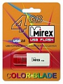 Флэш-диск Mirex 04 Gb Click Red (50)