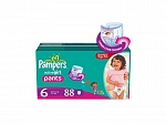 PAMPERS Подгузники-трусики Active Girl Extra Large (16+кг) МегаУпак 88