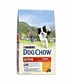DOG CHOW ACTIVE Д/АктивВзрСобКур 5х2.5кг