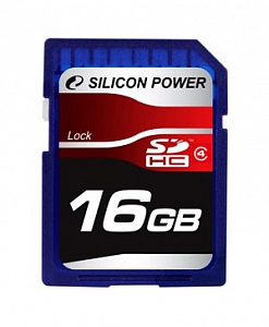 Silicon Power SDHC 16 Gb Class 4 (10)