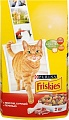 FRISKIES ADULT Д/Кошек Мясо, Печень, Курица 2кг