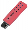 Флэш-диск QUMO 08 Gb Domino-red (10)