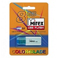 Флэш-диск Mirex 08 Gb Click Blue