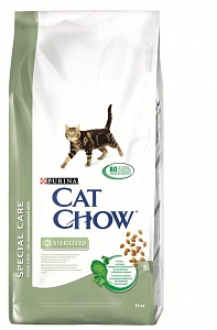 CAT CHOW SPECIAL CARE ПротОбрКомШерс15 кг