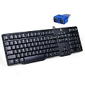 Клавиатура Logitech Keyboard K100 PS/2 (10/320)